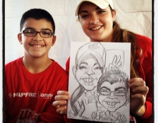 Making your party perfect with our caricature artists