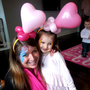 balloon heart headbands