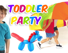Introducing Toddler Party Packages!