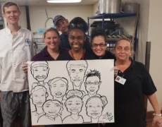 What To Expect with Multiple Caricature Artists at Your CT, MA, RI, NH Event