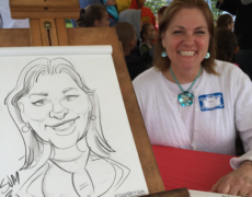 Caricatures for all of CT, MA, and RI!